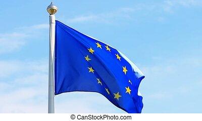 paneuropeizm bandera, przeciw, przedimek określony przed...