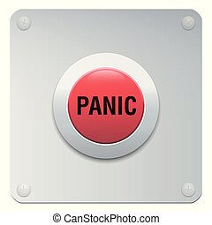 Panic Button Alarm Emergency - panic button, panic, button,...