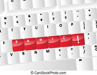 Panic Keyboard Concept