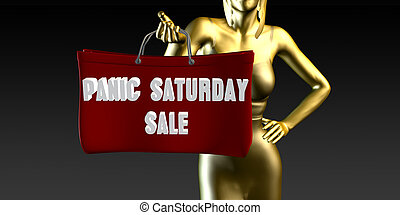 Panic Saturday Sale
