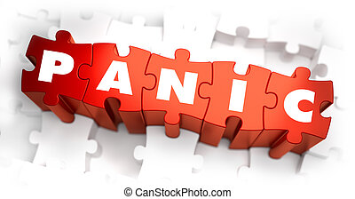 Panic - Text on Red Puzzles. - Panic - Text on Red Puzzles...