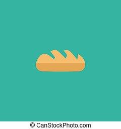 panificadora, símbolo, pão