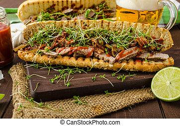 panino bistecca