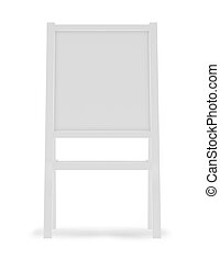 panino, -, isolato, illustrazione, interpretazione, asse, bianco, 3d