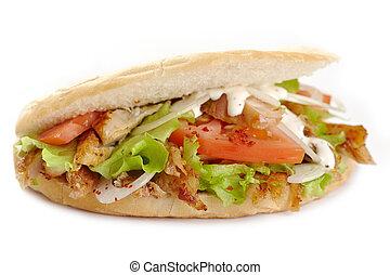 panino, kebab