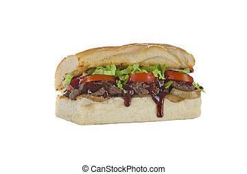 panino, sub, bistecca manzo, philly, hoagie
