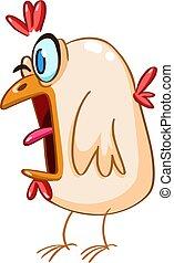 paniqué, poulet