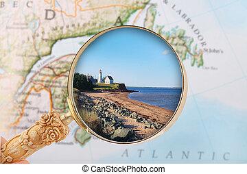 Panmure, Prince Edward Island - Looking in on Panmure Island...