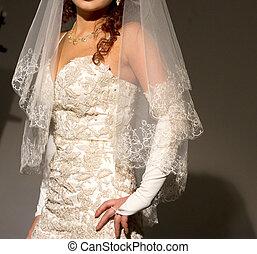 panna młoda, strój, ślub