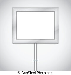 panneau affichage, publicité