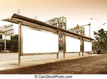 panneaux affichage, bord route
