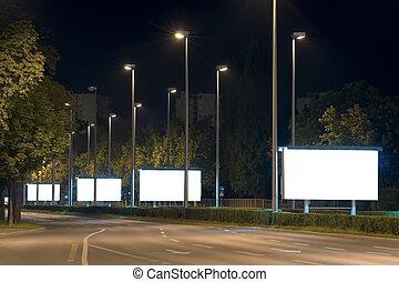 panneaux affichage