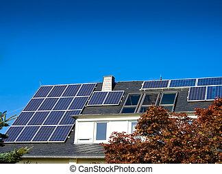 panneaux, (photovoltaic), solaire
