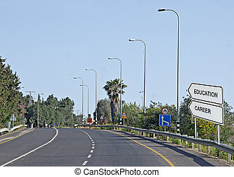panneaux signalisations, education, carrière
