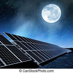 panneaux solaires, énergie
