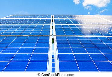 panneaux solaires, photovoltaïque