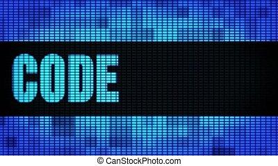 pannel, code, geleide, muur, tekst, meldingsbord, qr, plank,...
