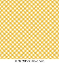pano tabela, seamless, padrão, amarela