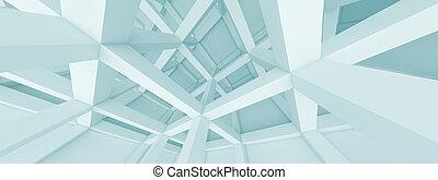 panorâmico, arquitetura, conceito