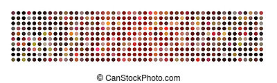 panorama, abstrakt, mäktig, fond mönstra, punkt