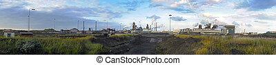 panorama, aciérie