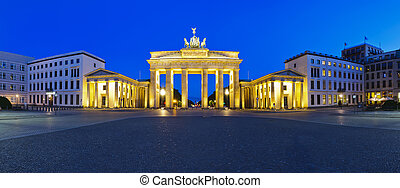 panorama brandenburg gate berlin - panorama brandenburg gate...