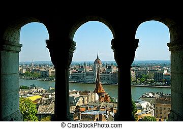 panorama, budapest