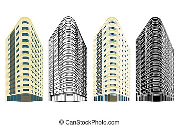 Panorama Building in Belo Horizonte, Brazil