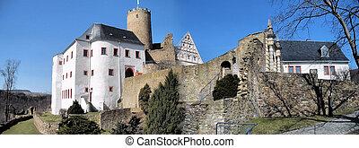 Panorama Castle Scharfenstein