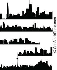 panorama, ciudades
