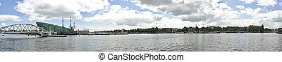 Panorama from Amsterdam Netherlands - Panorama from ...