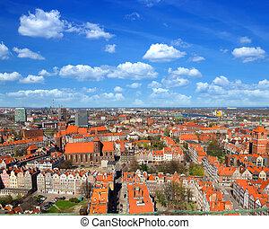 panorama, gdansk