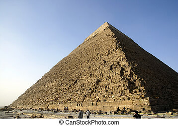 panorama, giza, el cairo, pirámides
