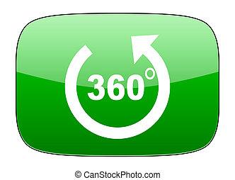 panorama green icon