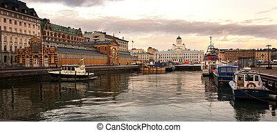 Helsinki, historical center - Panorama Helsinki, historical ...