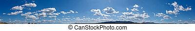 panorama, himmelsgewölbe