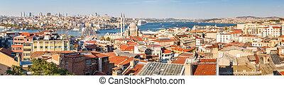Panorama in Istanbul, Turkey