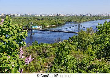 panorama, kiev, ukraine.