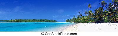 panorama, lagun