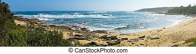 Panorama landscape of tropical beach