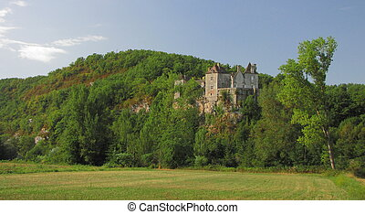 Valley of Lot ; Midi-Pyrenees ; Southwest of France