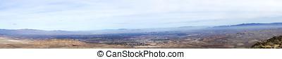 Panorama Las Vegas Basin and Skyline