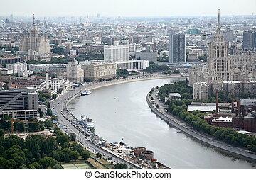 panorama, miasto