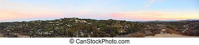 Panorama of a Canyon