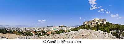 Acropolis and Athens, Greece