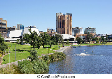 Adelaide, Australia - Panorama of Adelaide, Australia