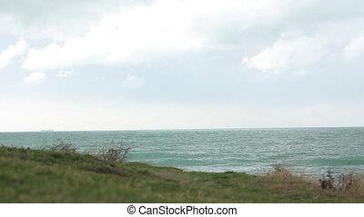 Panorama of beautiful bay.