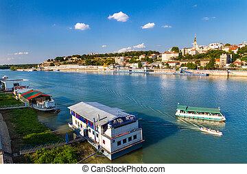 Panorama of Belgrade, Serbia, Yugoslavia. - Beautiful view ...