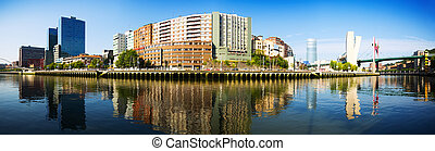 Panorama of Bilbao
