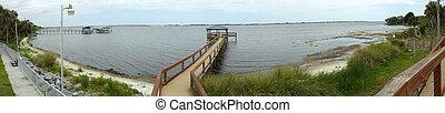 Panorama of Boardwalk